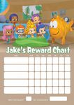 Personalised Bubble Guppies Reward Chart (adding photo option available)